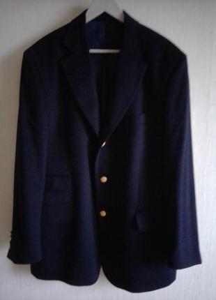 Кашемировый пиджак блейзер