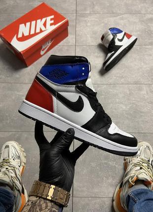 Nike air jordan 1 og sp white blue red
