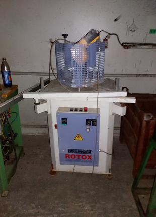 rotox hollinger kpsm-e-ix сварочный одноголовый производства пвх