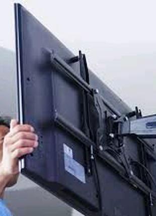 Навішування ТВ,Монтаж кронштейна ТВ