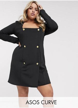 Платье-пиджак asos design