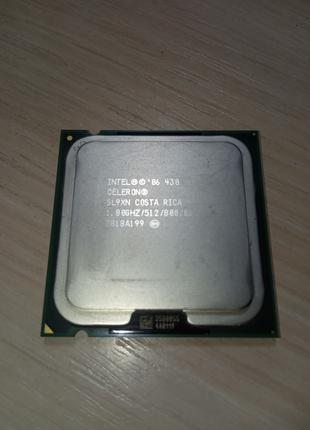 Процессор Intel Celeron 430 1,80 ГГц (SL9XN)