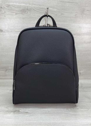 Женский компактный городской рюкзак ,черный,серый...