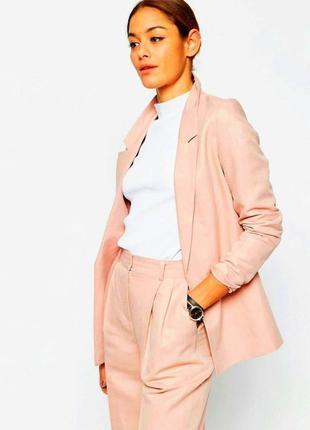 Удлиненный пиджак оверсайз