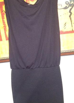 Черное платье mango