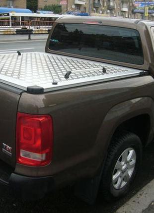Алюминиевая крышка кузова VW Амарок. Крышка багажника амарок