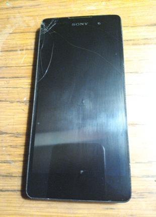 Мобильный сенсорный телефон 5 дюймов сони е5 Sony Xperia F3111 че