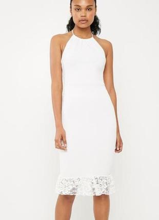 👑♥️final sale 2019 ♥️👑  платье миди с кружевом