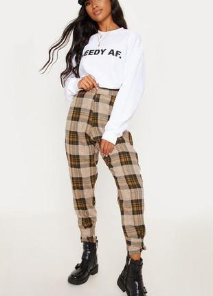 👑♥️final sale 2019 ♥️👑   брюки в клітку
