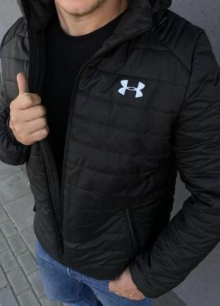 Куртка мужская Under Armour демисезонная весенняя осенняя черная