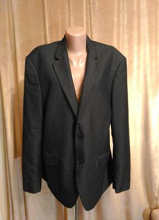 Мужкой пиджак bertoni размер 18 / xl