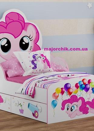 Детская кровать Little Pony Пинки Пай Литл Пони