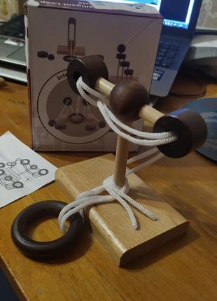 Большая деревянная китайская головоломка 1