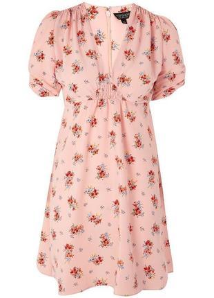 Платье в ретро стиле topshop