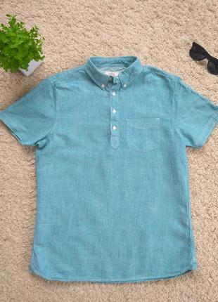 Мужская рубашка с коротким рукавом next