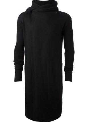 Rick owens пальто кардиган худи 100%кашемир оригинал rpr2200€ ...