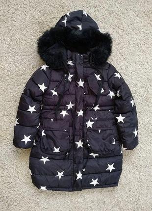 Зимняя куртка на девочку, пуховик