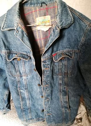 Пиджак мужской джинс