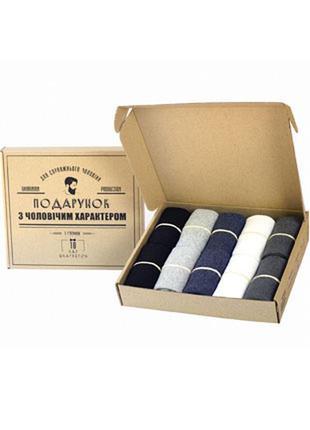 Мужские носки Rovix 10 пар классические однотонные/подарок