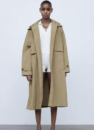 Zara тренч limited edition