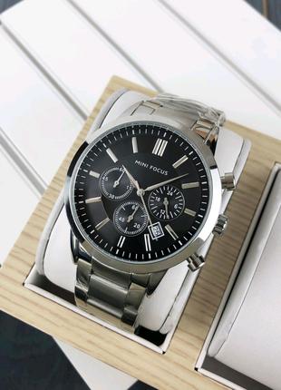 Класичний чоловічий годинник Mini Focus MF0188G Оригінал