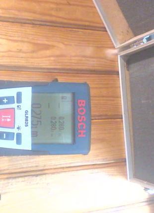 Дальномер-рулетка лазерный Bosch GLM 825, профессионал, до 250 м.