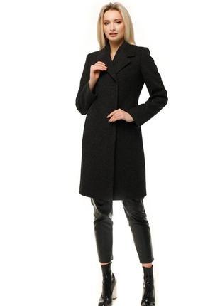 Пальто женское демисезонное шерстяное.