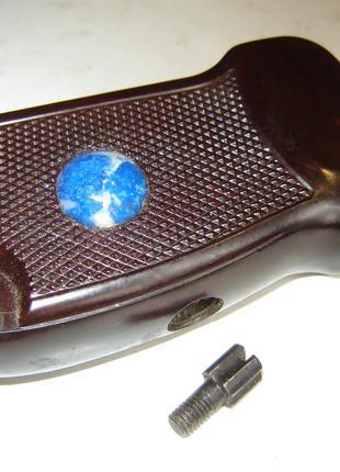 Коллекционная ручка для массо-габаритного макета ПМ с лазуритом