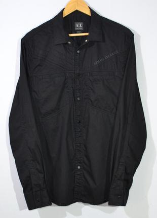 Рубашка овершит armani exchange shirt