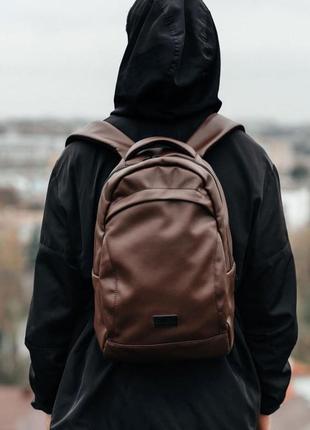 Коричневый рюкзак унисекс