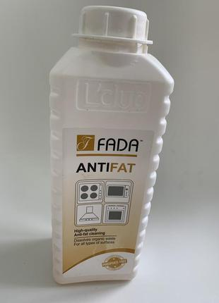 Засіб від пригорівшого жиру від фада, fada антижир