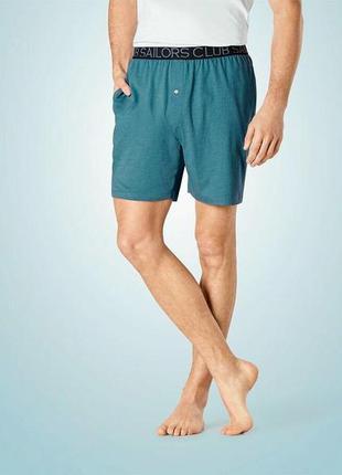 Домашні піжамні чоловічі шорти бавовна - livergy ® німеччина x...