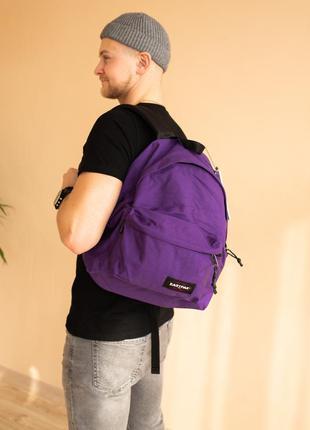 Рюкзак eastpak padded pak'r  24 л фиолетовый
