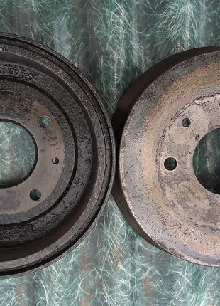 Задние тормозные барабаны Mitsubishi Colt CZ