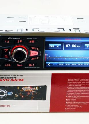 Автомагнитола  Pioneer 4031 ISO  - экран 4,1'', DIVX,  MP3,  USB