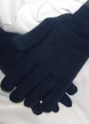 Рукавички, перчатки темно-синии