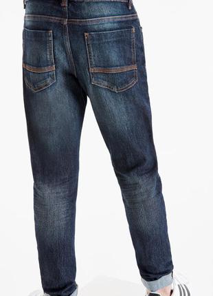 Темные базовые джинсы next винтаж с пятью карманами