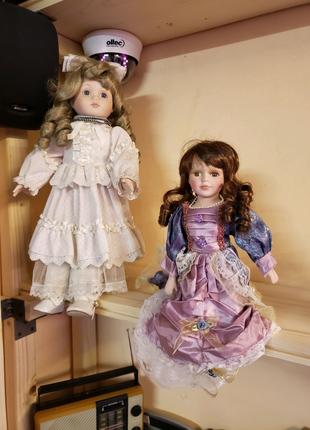 Кукла фарфор порцеляна коллекция раритет винтаж (Germany)