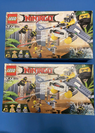 Набор LEGO Ninjago Movie Бомбардировщик Морской дьявол (70609)