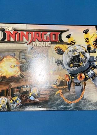Набор LEGO Ninjago Movie Летающая субмарина Медуза (70610) (2017)