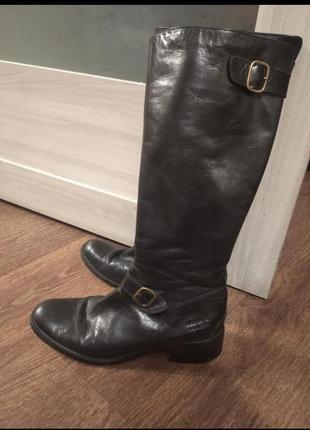❤️сапоги ботинки высокие оригинал на худую ножку деми весна осень
