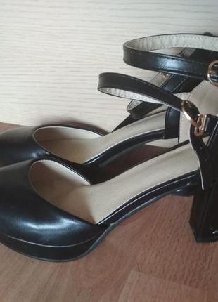 Туфли - босоножки 42 р с закрытым носком