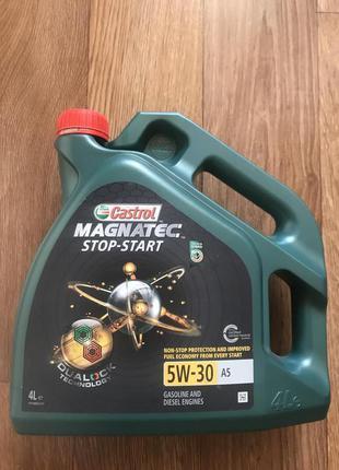Моторное масло Castrol Magnatec Stop-start A5 5W-30