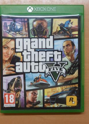Диск с игрой GTA V для Xbox ONE, ONE S, ONE X, X|S ГТА 5