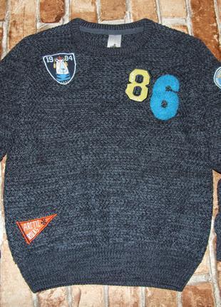 Кофта свитер мальчику 9 лет palomino