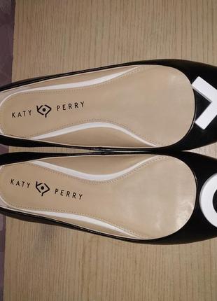Туфли - балетки 42 р katy perry кожаные кети пери