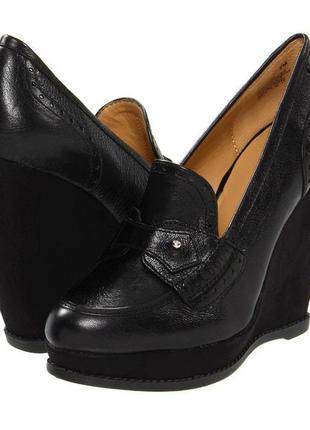 Туфли 41-42 р кожаные большого размера