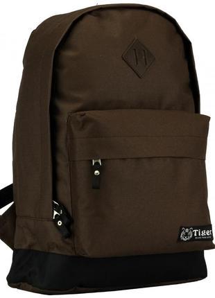 Мужской рюкзак tiger коричневый