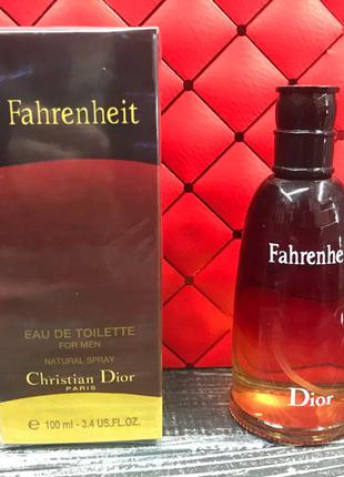 Мужская туалетная вода Christian Dior Fahrenheit 100ml (Кристиан