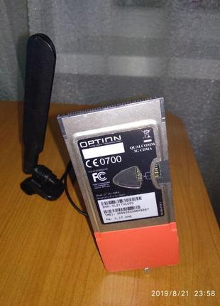 PCMCIA WI-FI router 3G Vodafone